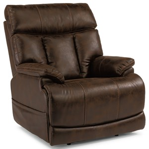 Flexsteel Latitudes-Clive Power Recliner with Power Headrest