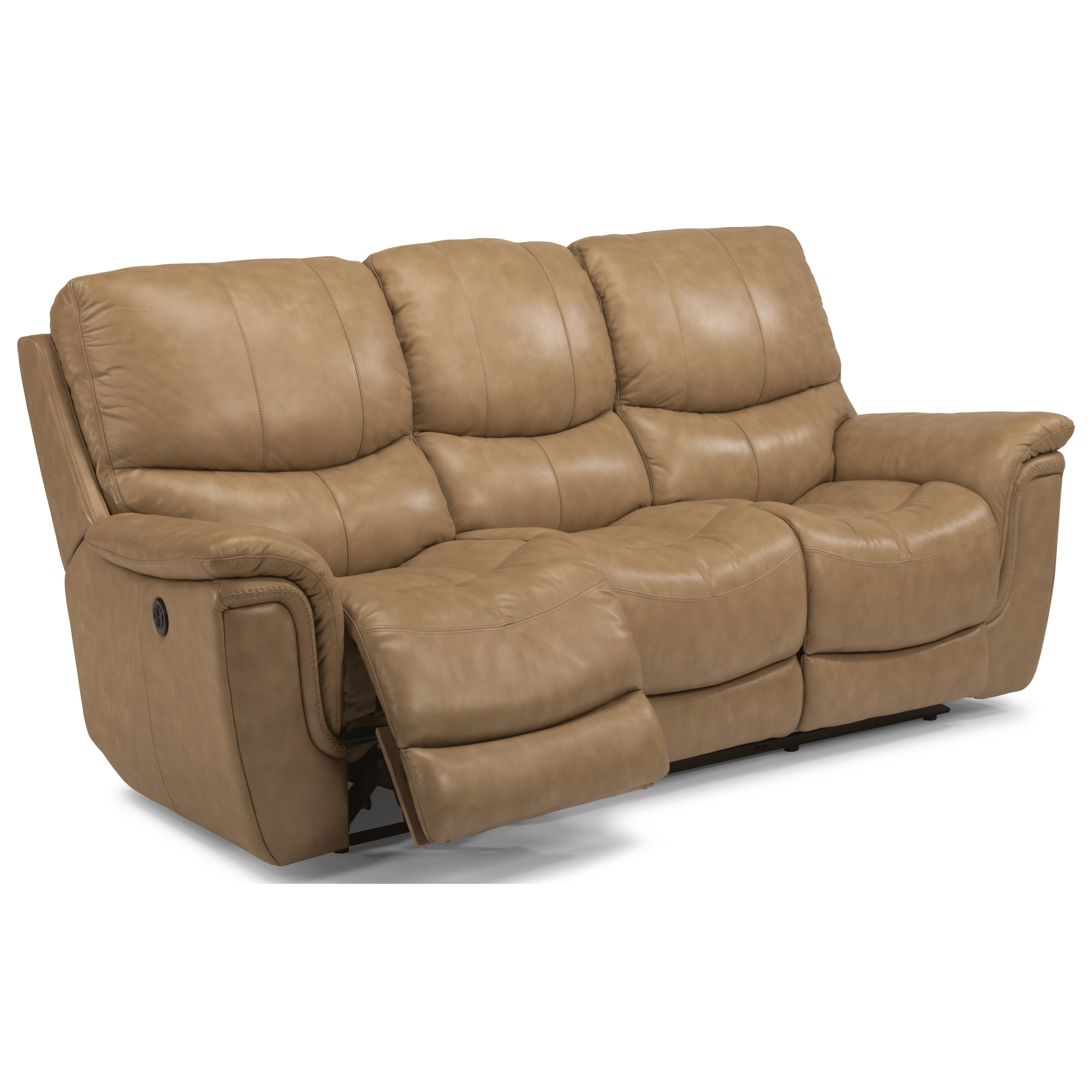 Flexsteel Latitudes Coco 1851 62p Casual Power Reclining Sofa With Usb Ports Dunk Bright
