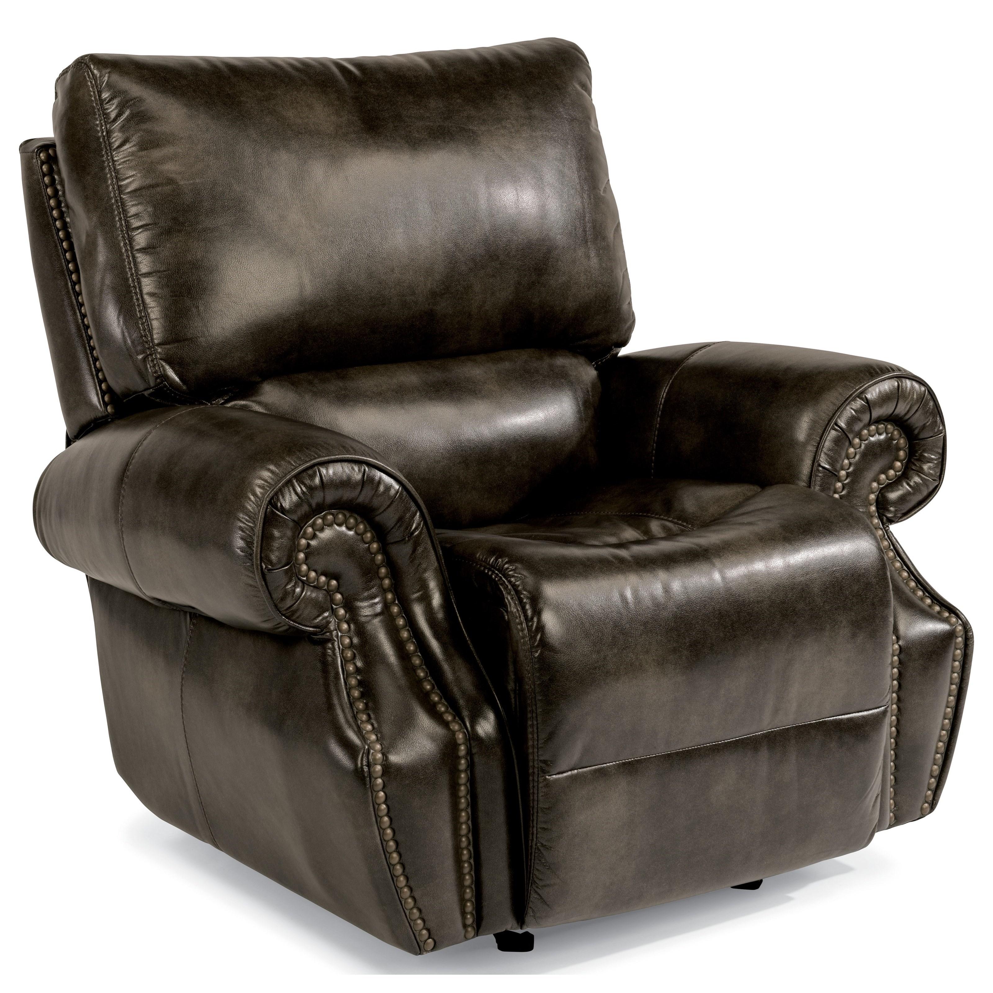 Flexsteel Latitudes-Colton Pwr Gliding Recl w/ Pwr Headrest - Item Number: 1582-54PH