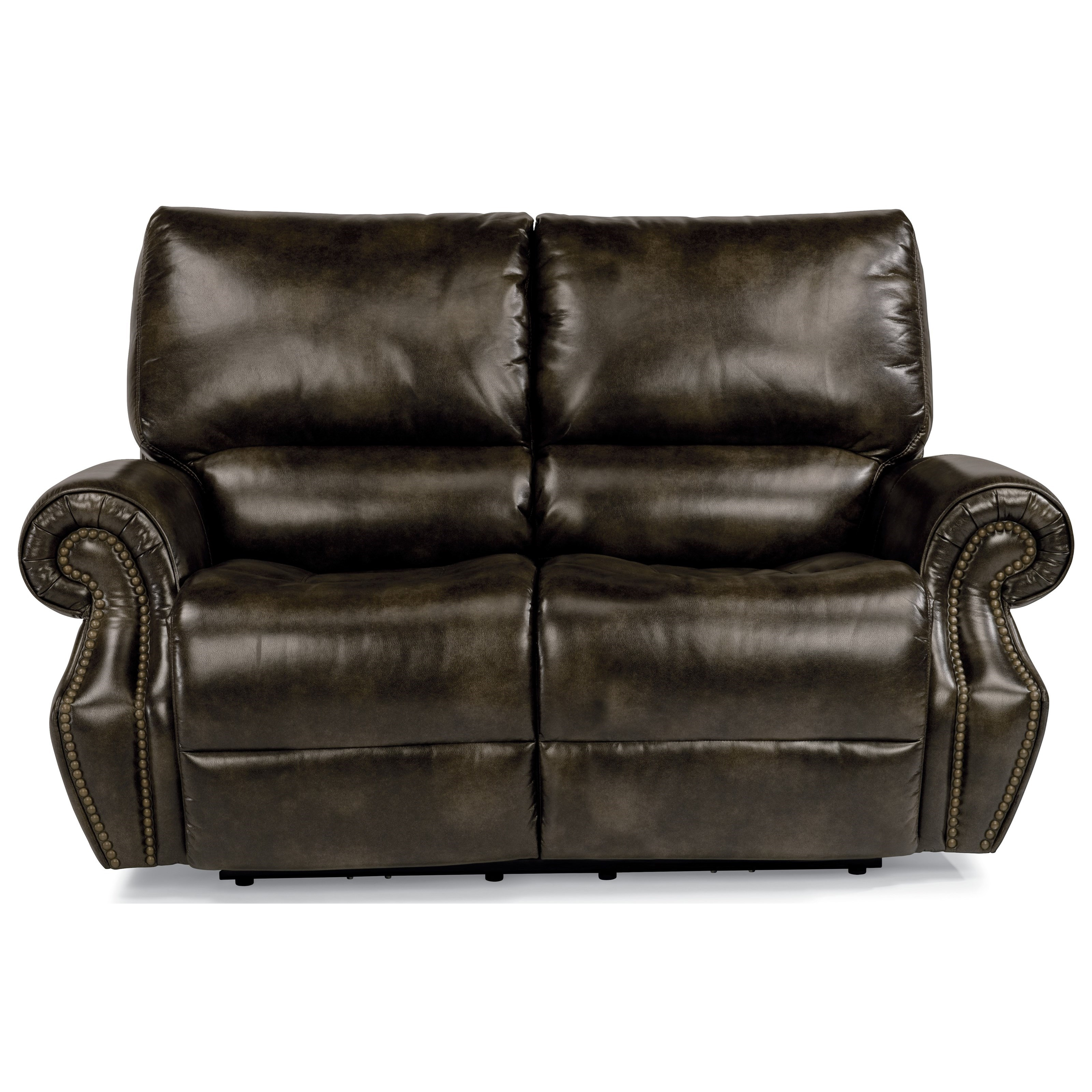 Flexsteel Latitudes-Colton Pwr Rcl Loveseat w/ Pwr Headrest - Item Number: 1582-60PH