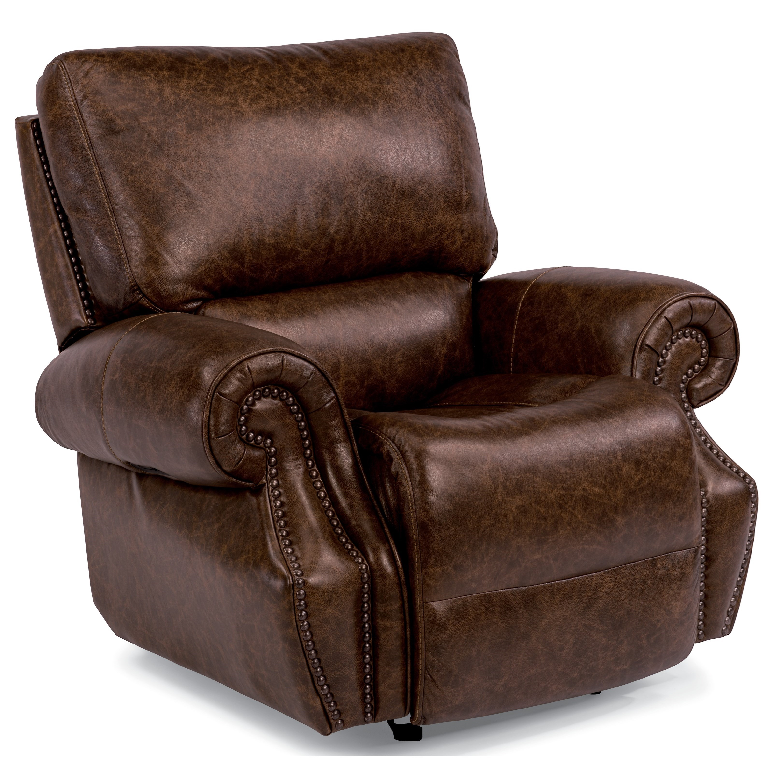 Flexsteel Latitudes-Colton Pwr Gliding Recl w/ Pwr Headrest - Item Number: 1583-54PH