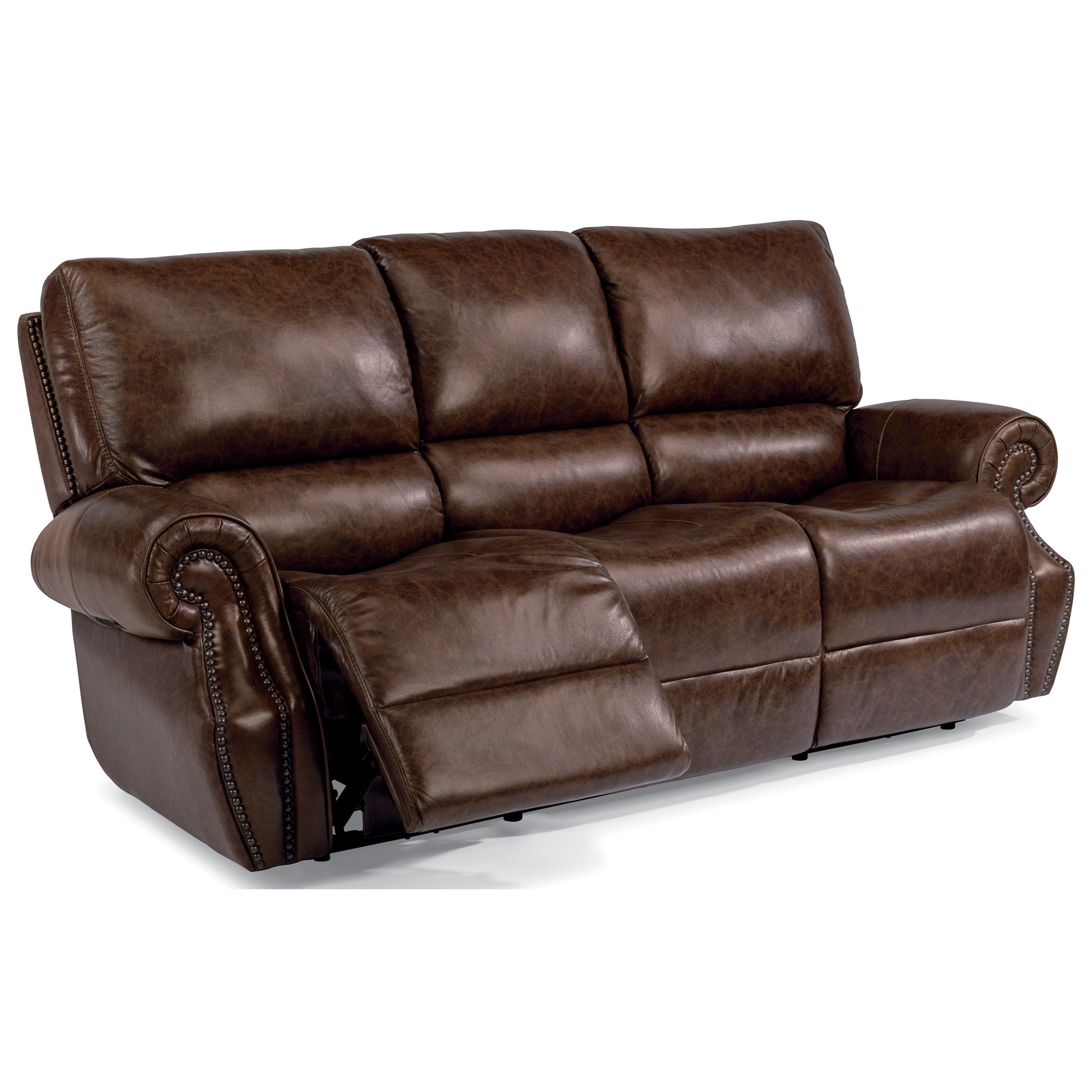 Flexsteel Latitudes-Colton Power Rcl Sofa w/ Pwr Headrest - Item Number: 1583-62PH
