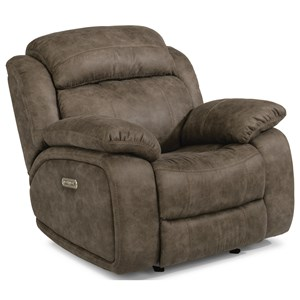 Flexsteel Vantana Vantana Power Headrest Glider Recliner