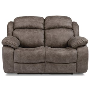 Flexsteel Latitudes-Como Power Reclining Loveseat with Power Headrest
