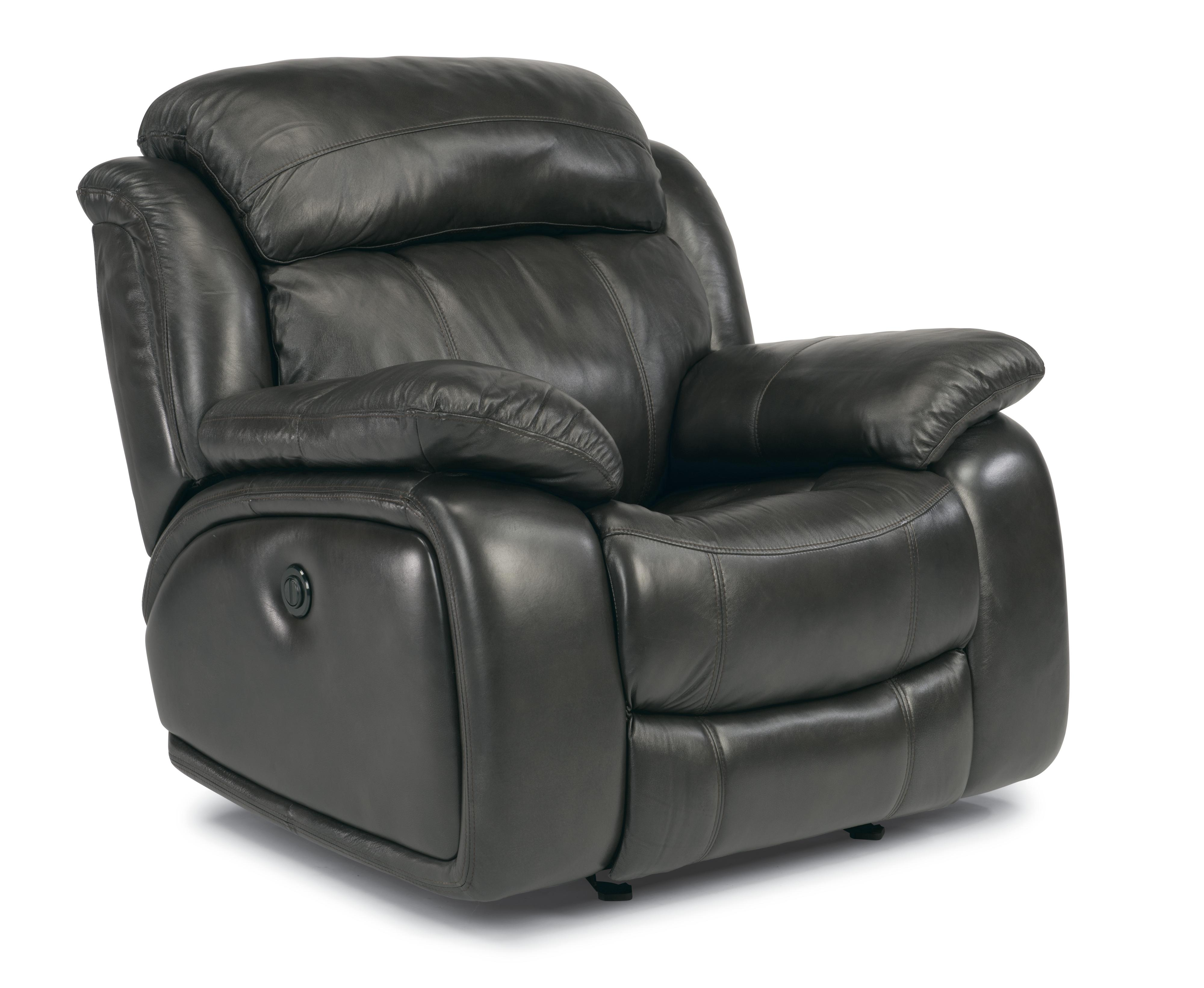 Flexsteel Latitudes-Como  Power Glider Leather Recliner - Item Number: 1409-54P