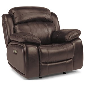 Flexsteel Latitudes-Como Power Glider Recliner with Power Headrest