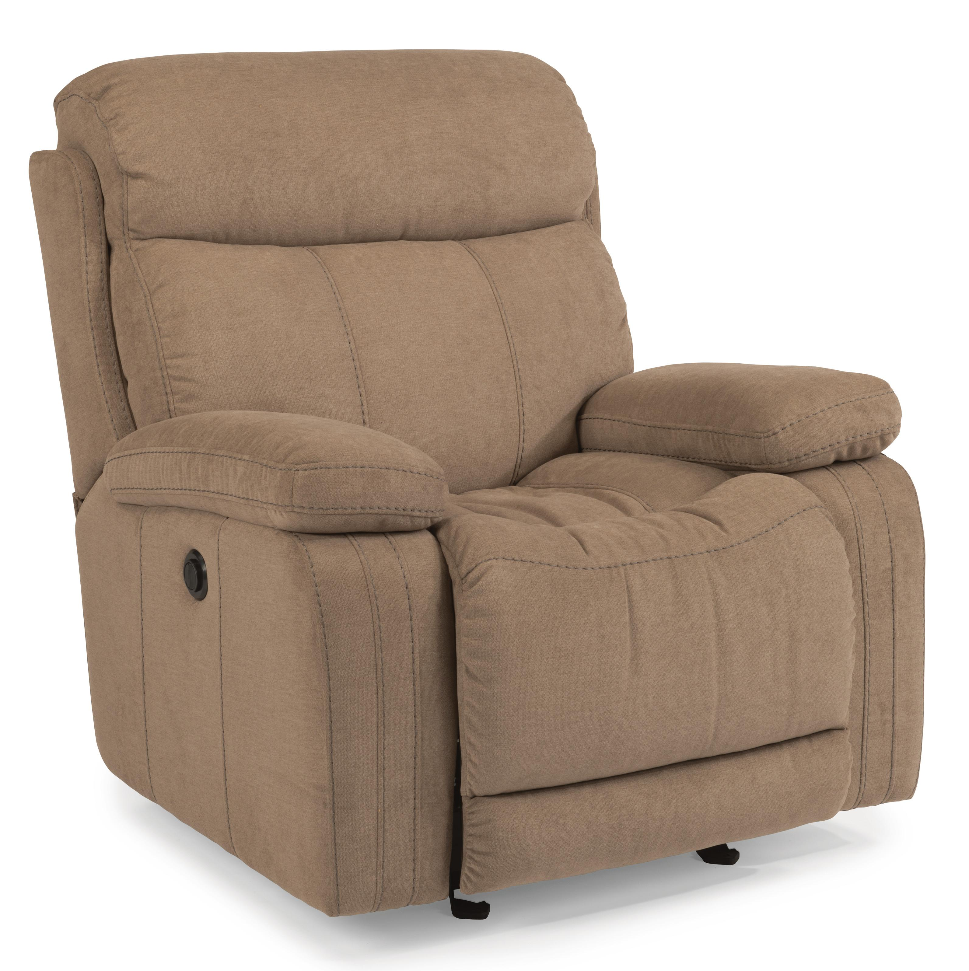 Flexsteel Latitudes-Danika Glider Recliner with Power - Item Number: 1484-54P-414-01
