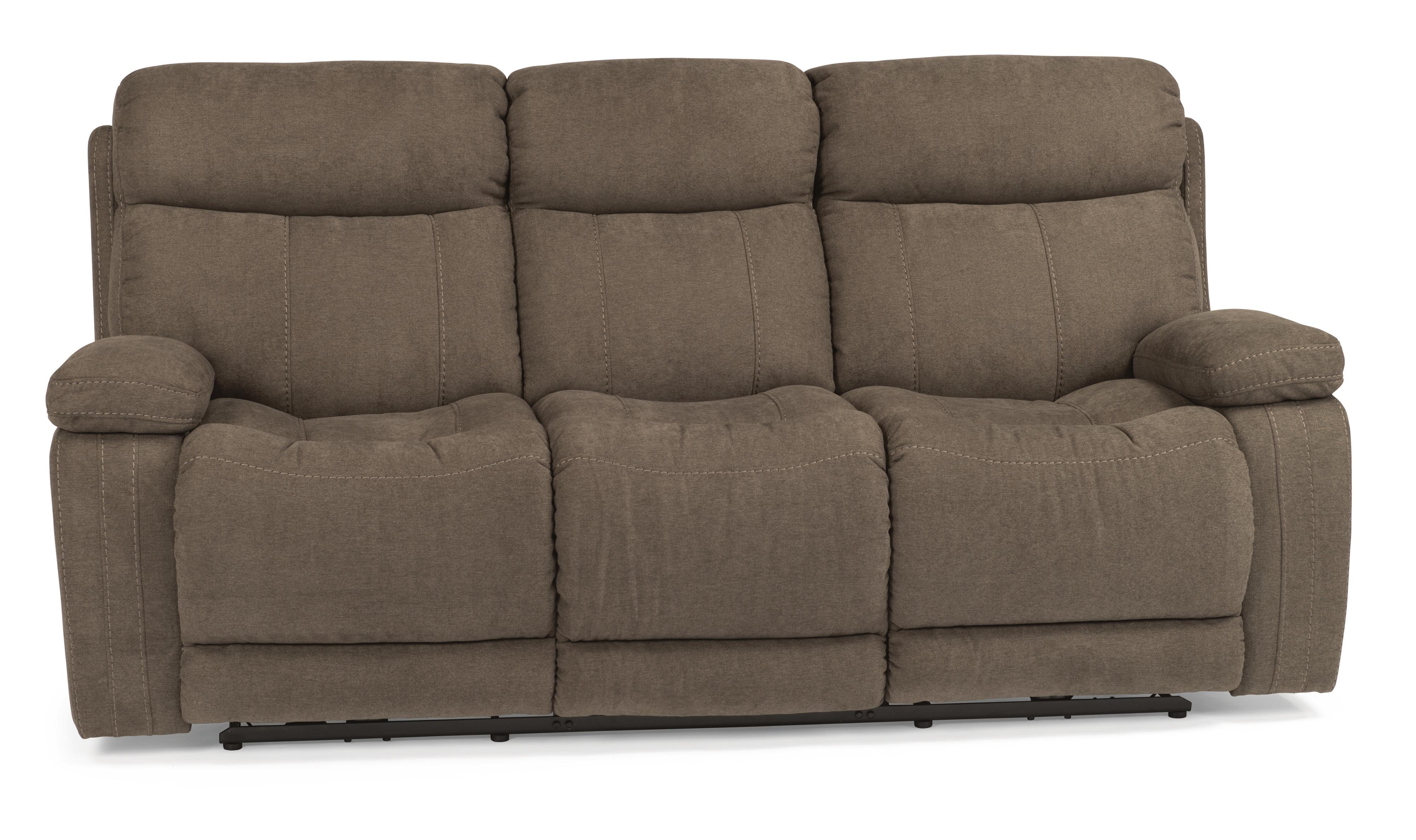 Flexsteel Latitudes-Danika Power Reclining Sofa - Item Number: 1484-62P-414-02
