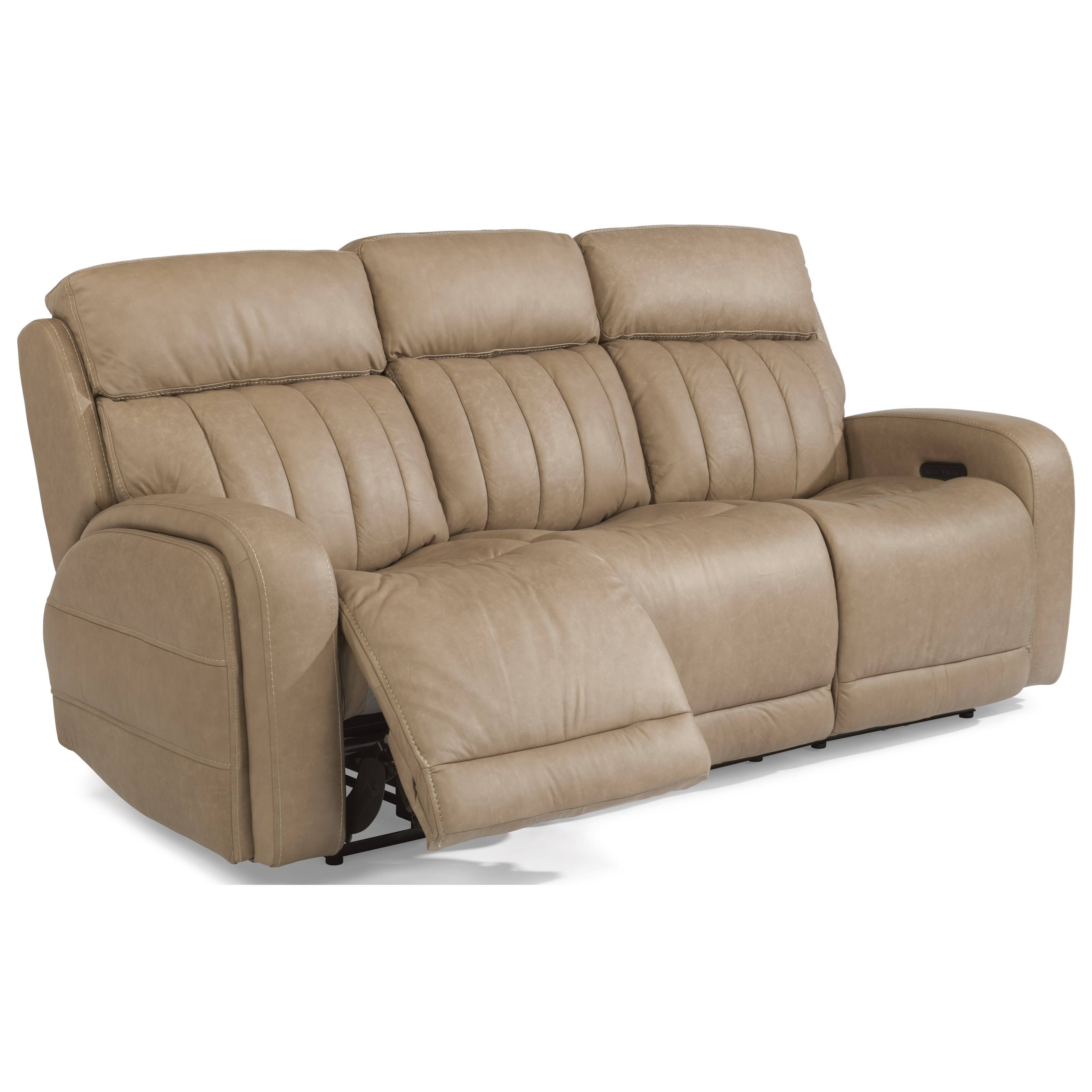 Flexsteel Latitudes Danvers Casual Power Reclining Sofa with Power