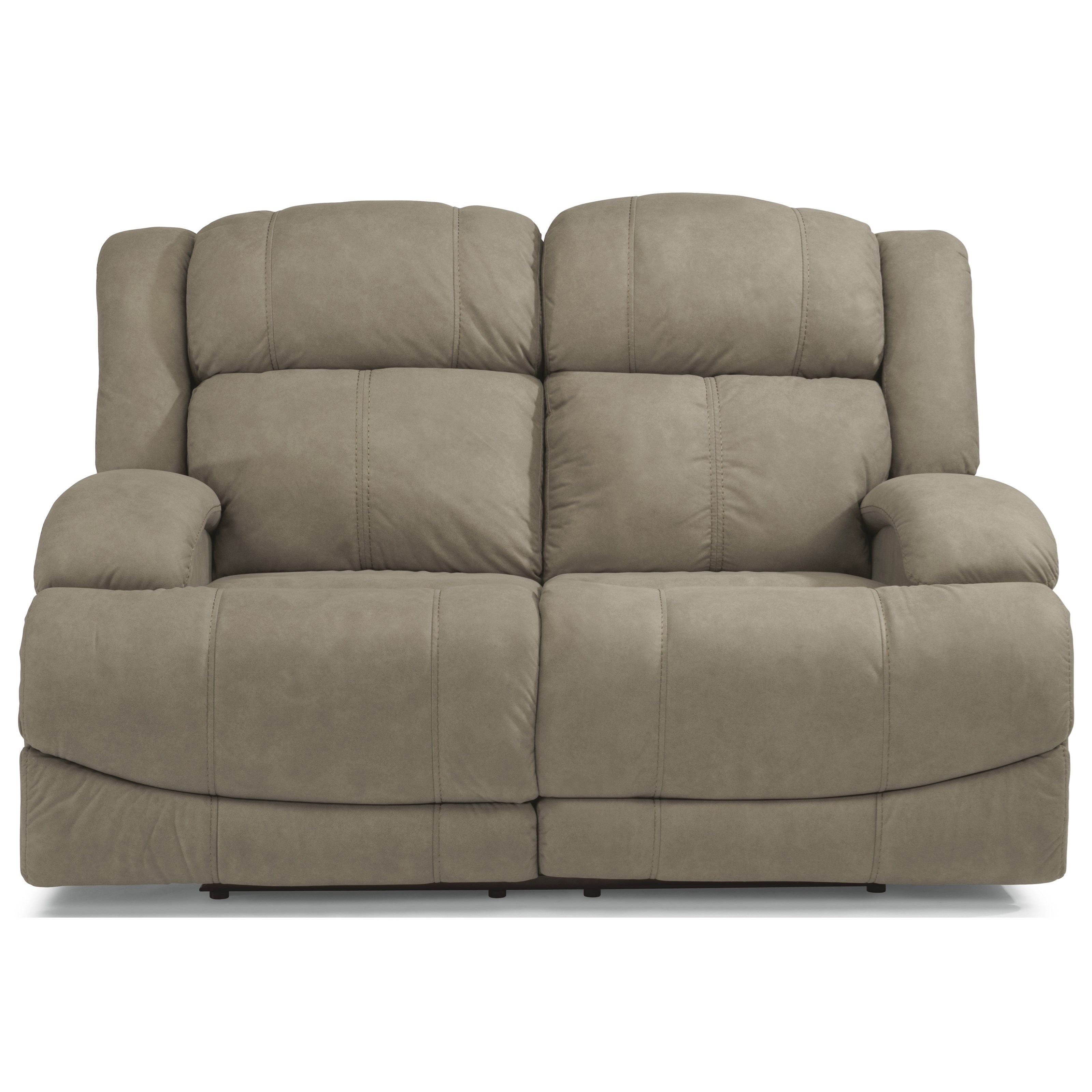 Flexsteel Sofa Locations: Flexsteel Latitudes-Declan Casual Power Reclining Loveseat