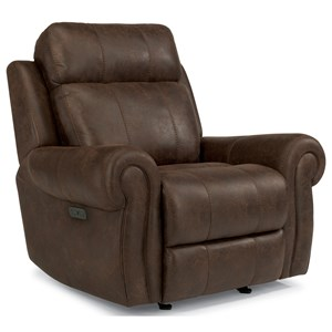 Flexsteel Latitudes-Forrest Power Gliding Recliner