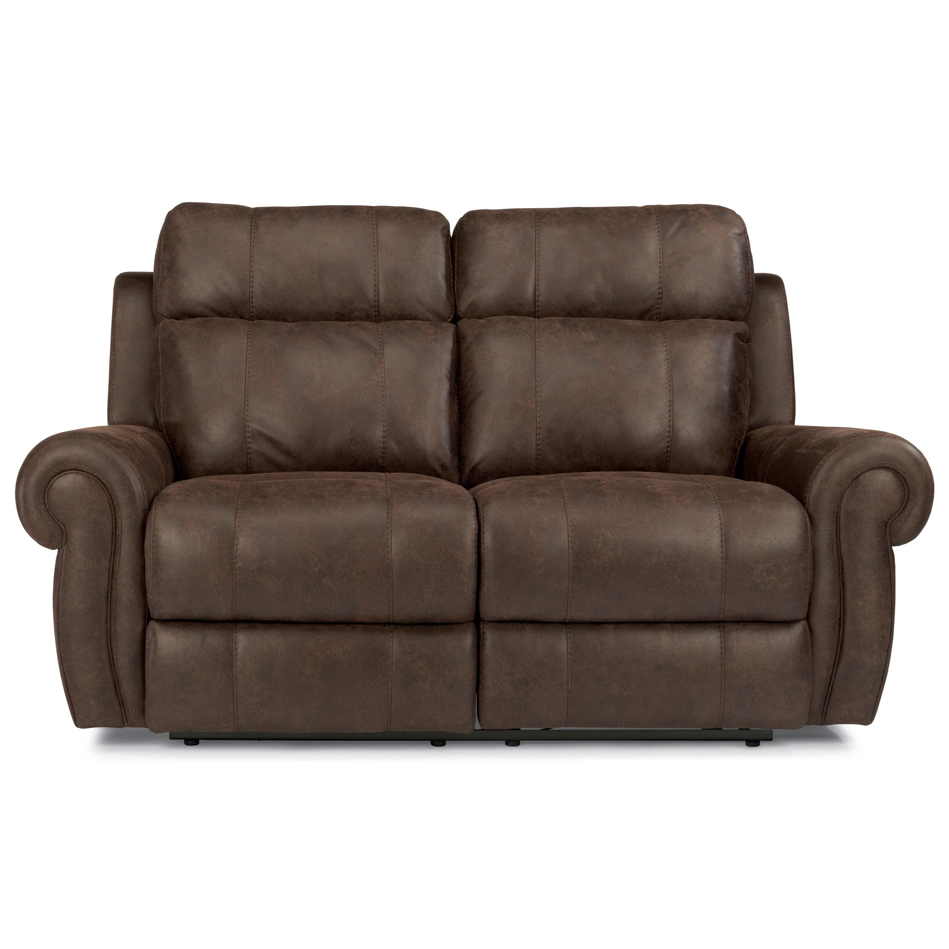 Flexsteel Latitudes-Forrest Power Reclining Love Seat - Item Number: 1346-60PH