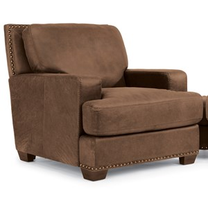 Flexsteel Latitudes-Fremont Leather Chair