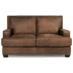Flexsteel Latitudes-Fremont Leather Loveseat