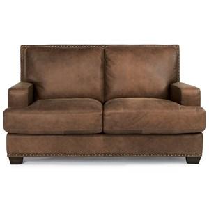 Flexsteel Latitudes-Fremont Leather Loveseat