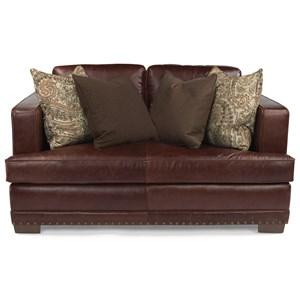 Flexsteel Latitudes-Fulbright Leather Love Seat