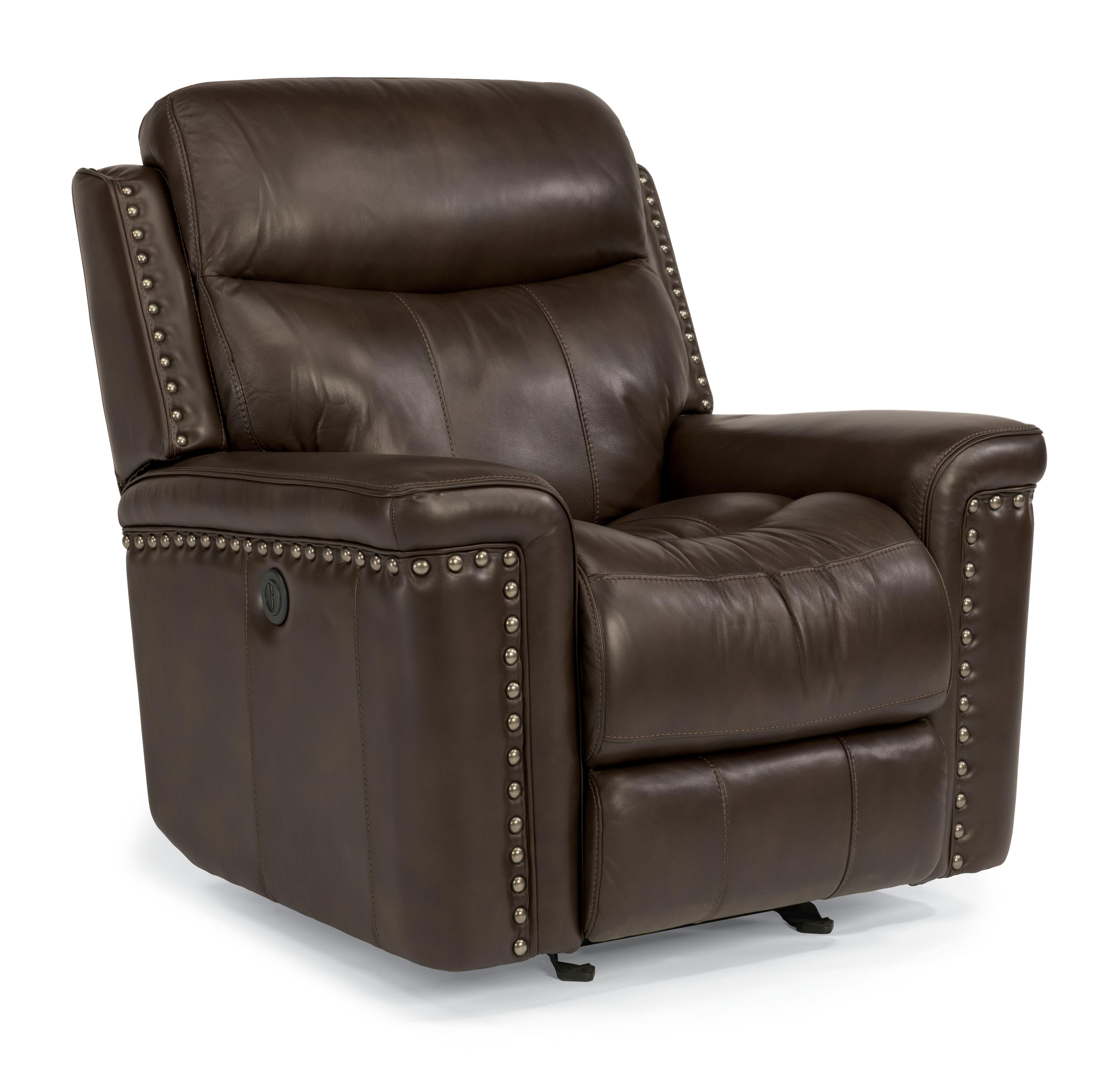 Flexsteel Latitudes-Grover Power Glider Recliner - Item Number: 1339-54P-014-74