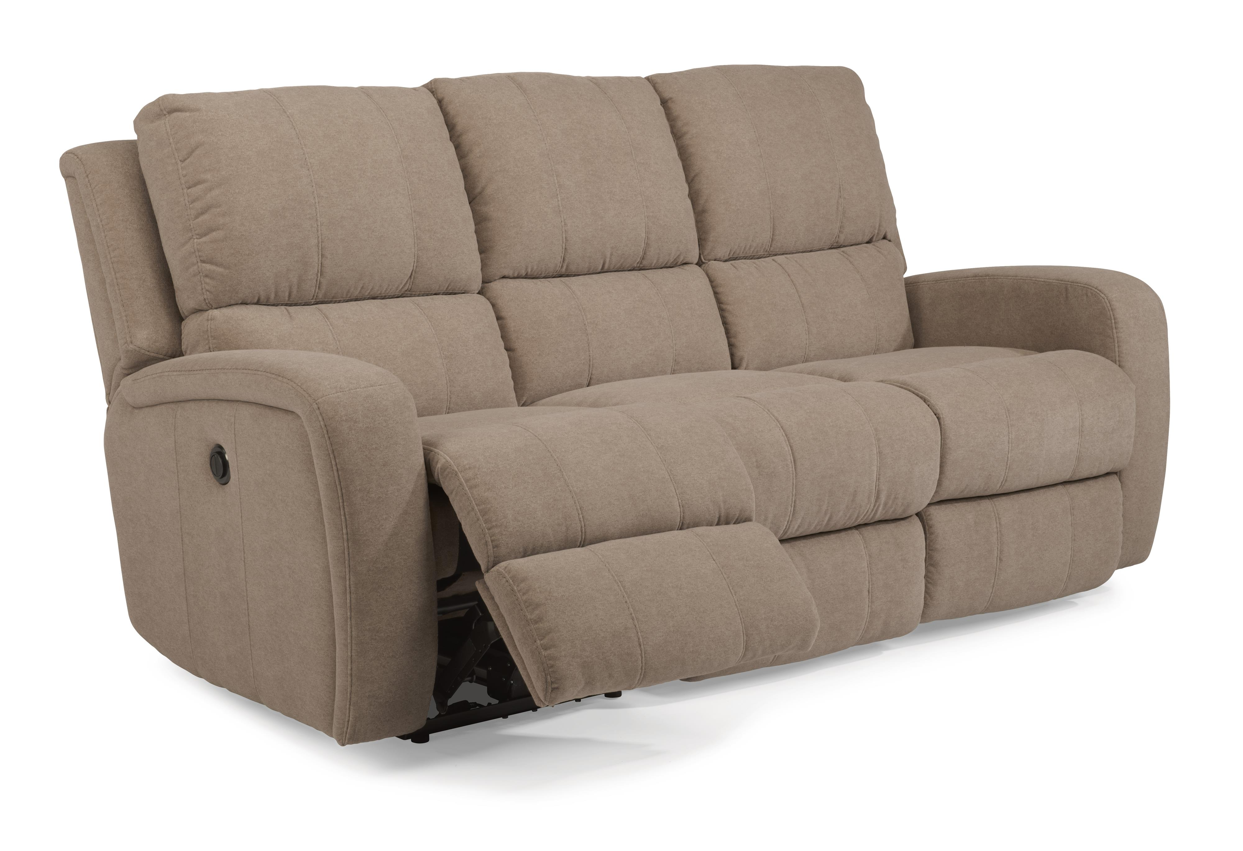Flexsteel Latitudes-Hammond Double Reclining Sofa W/ Power - Item Number:  1156-