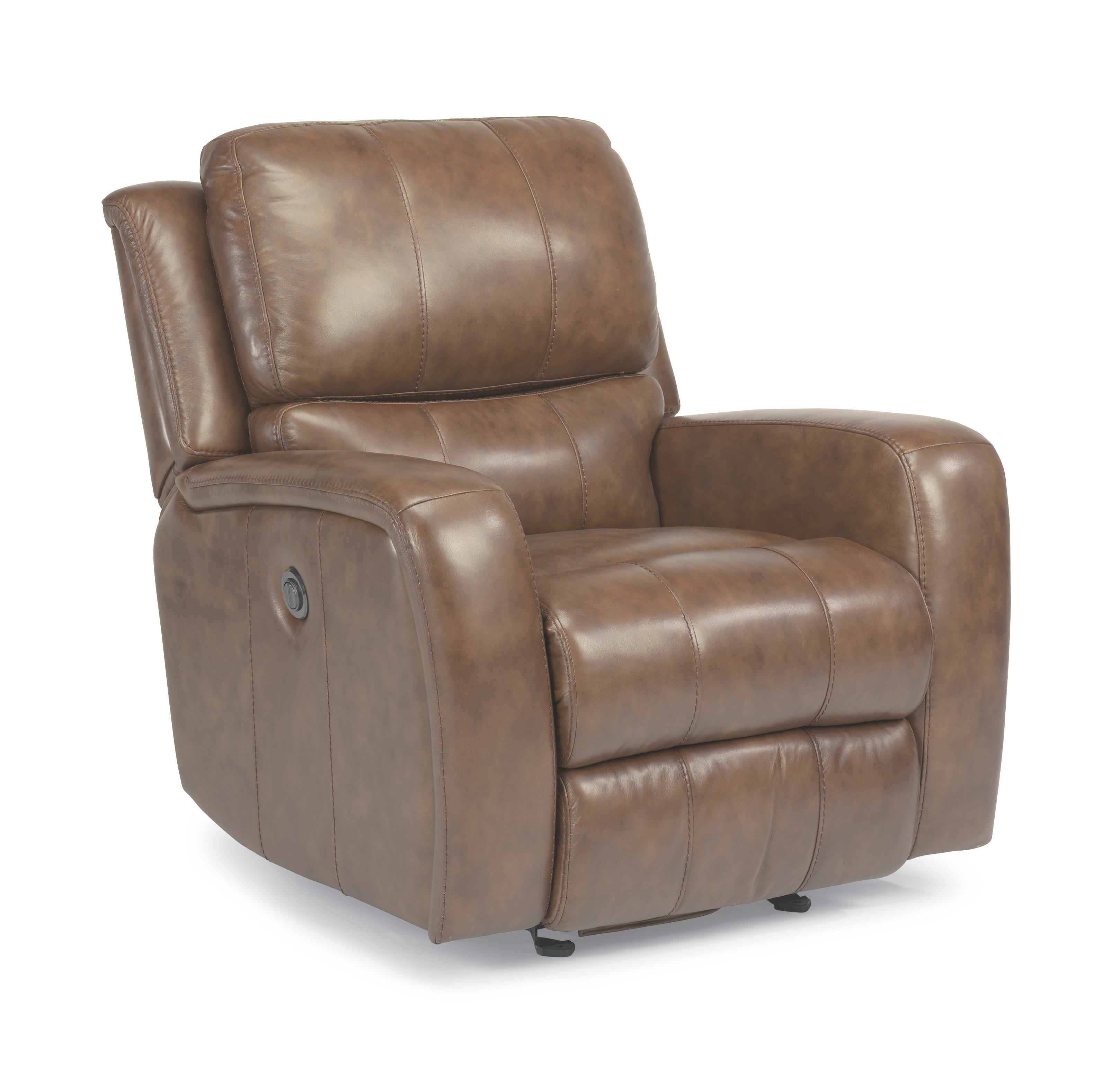 Flexsteel Latitudes-Hammond Glider Recliner with power - Item Number: 1157-54P-555-74