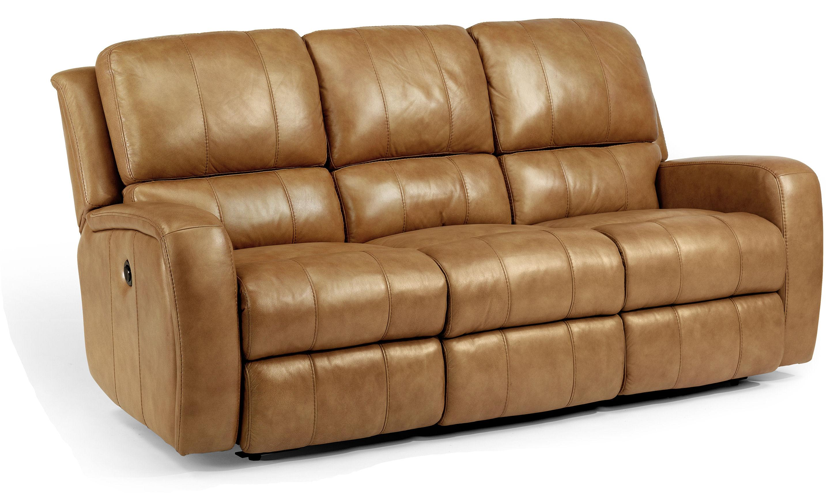 Flexsteel Latitudes-Hammond Double Reclining Sofa w/ Power - Item Number: 1157-62P