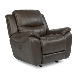 Flexsteel Latitudes - Hilliard Power Glider Recliner
