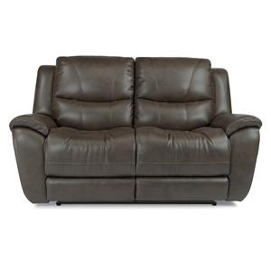 Flexsteel Latitudes - Hilliard Power Reclining Loveseat