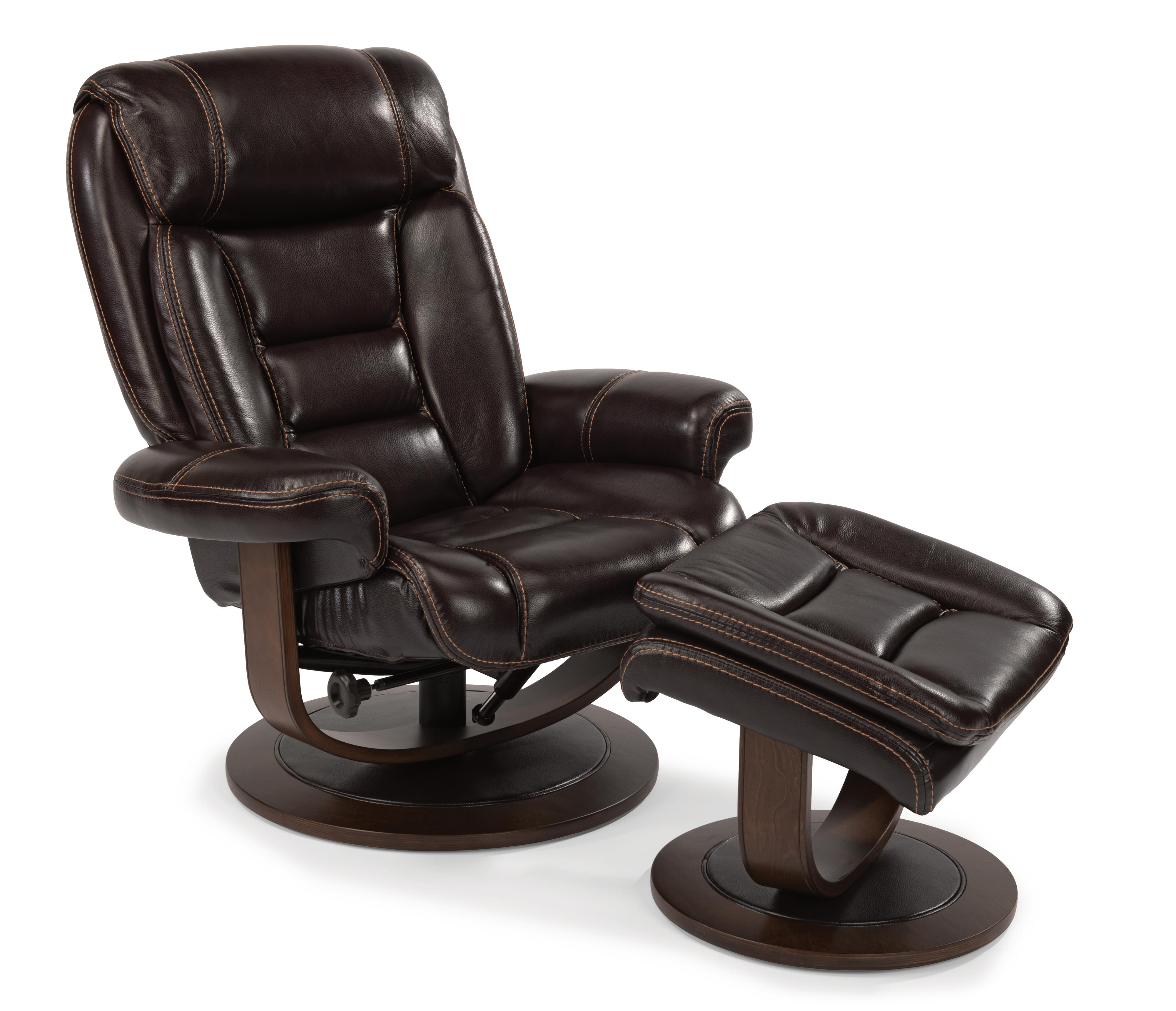 Flexsteel Latitudes-Hunter Reclining Chair and Ottoman Set - Item Number: 1455-CO-585-72