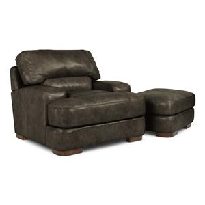 Flexsteel Latitudes - Jillian Chair & Ottoman Set