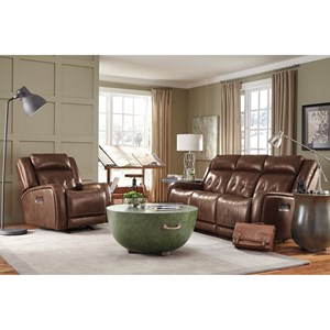 Flexsteel Latitudes-Jude Power Reclining Living Room Group