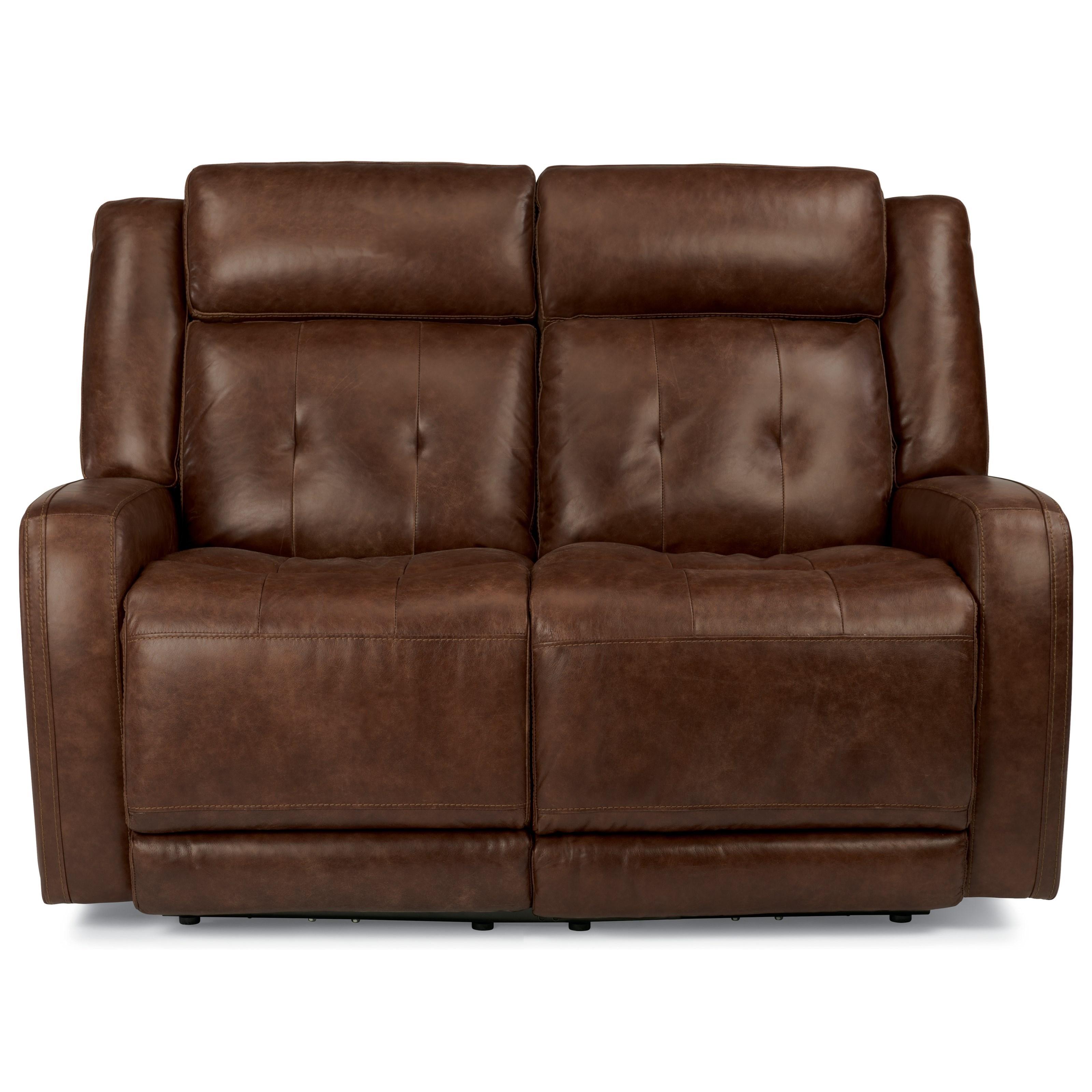 Flexsteel Latitudes-Jude Power Reclining Love Seat - Item Number: 1559-60PH