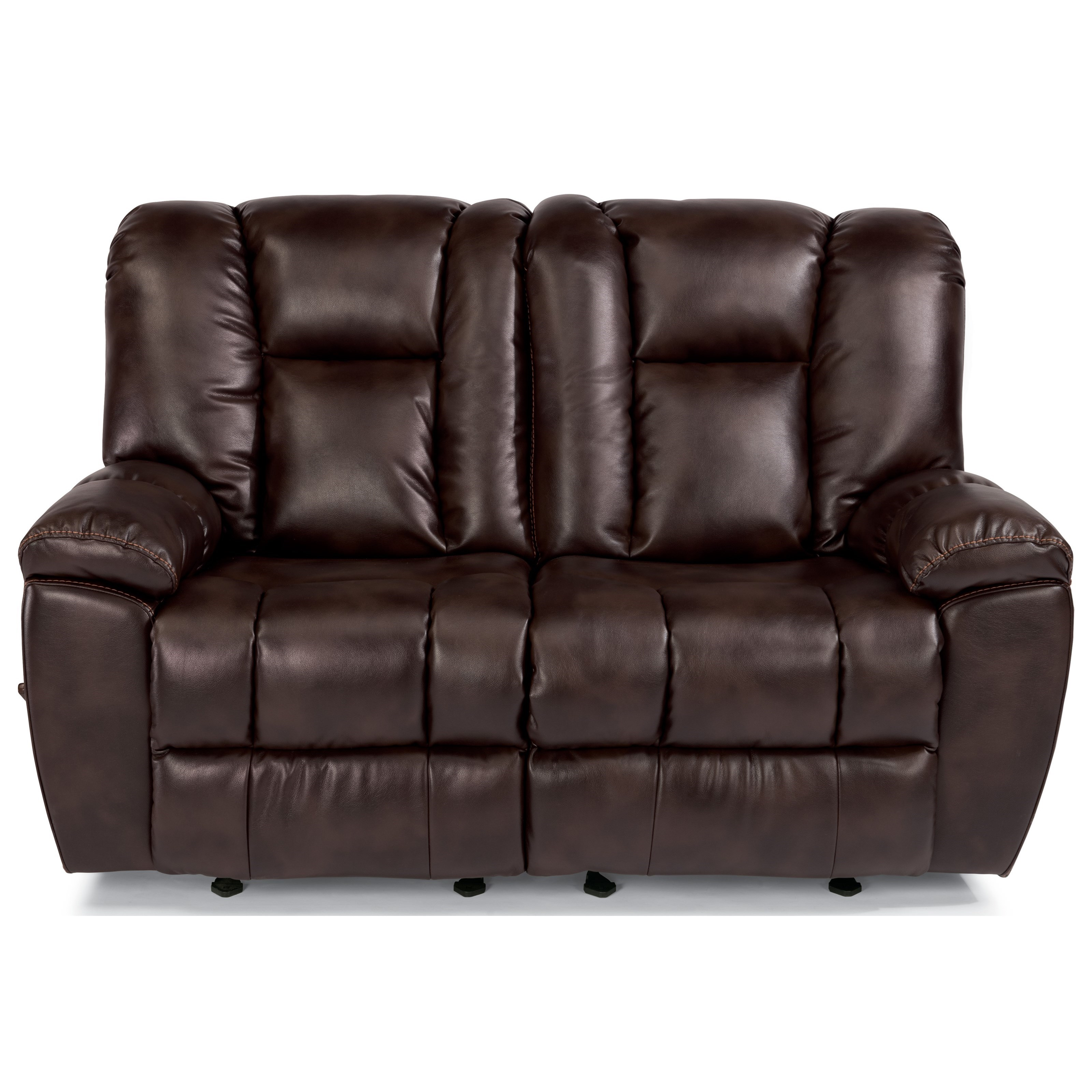 Flexsteel Latitudes-La Crosse Gliding Reclining Love Seat - Item Number: 1638-60