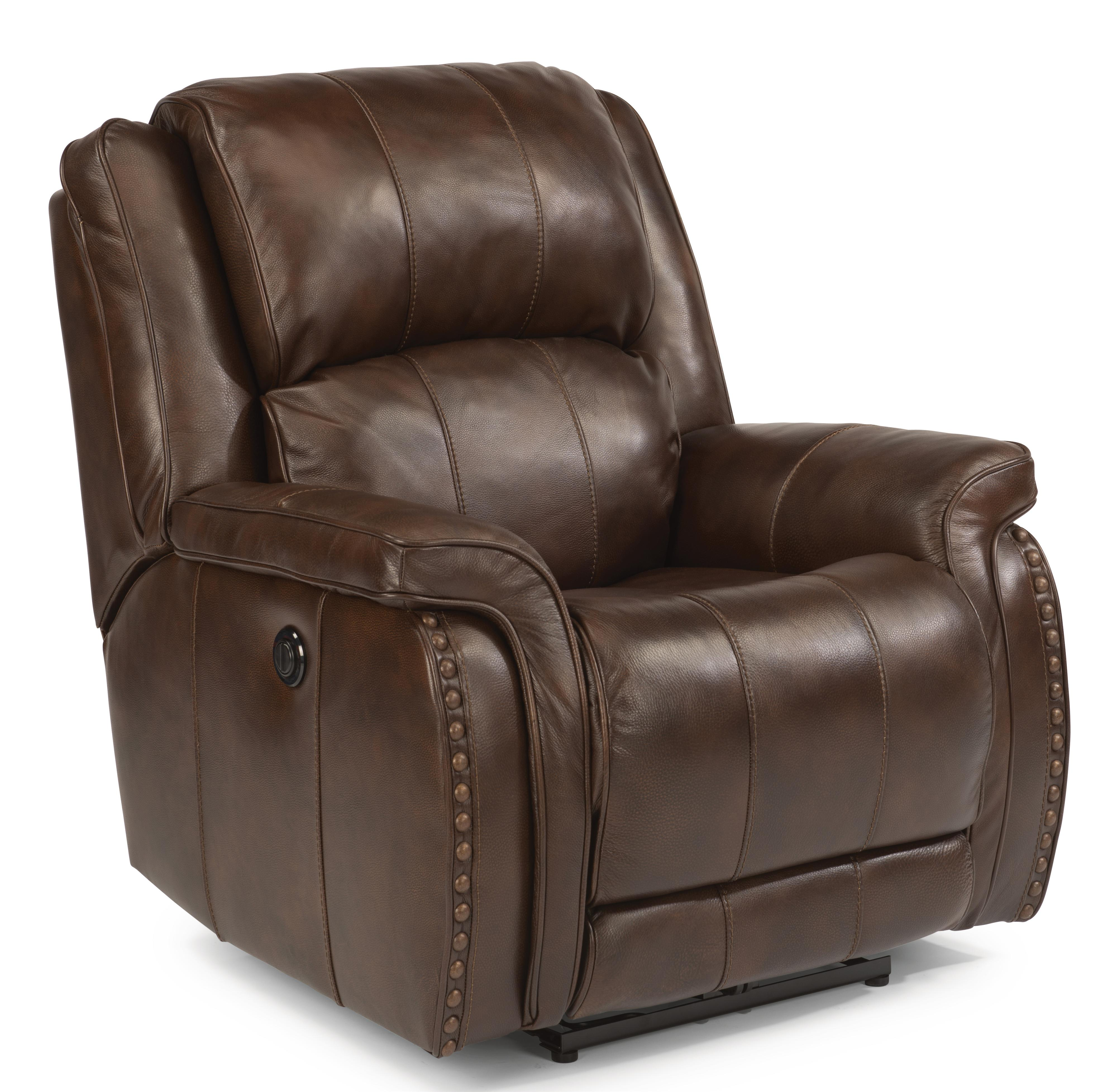 Merveilleux Flexsteel Latitudes Lorenzo Recliner With Power   Item Number: 244 500P 418