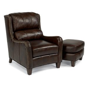 Flexsteel Latitudes-Lukas Chair and Ottoman