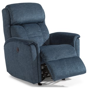 Flexsteel Latitudes-Luna Power Recliner with Power Headrest