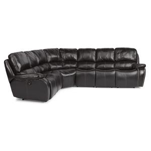 Flexsteel Latitudes-MacKay 4 Pc Power Reclining Sectional Sofa
