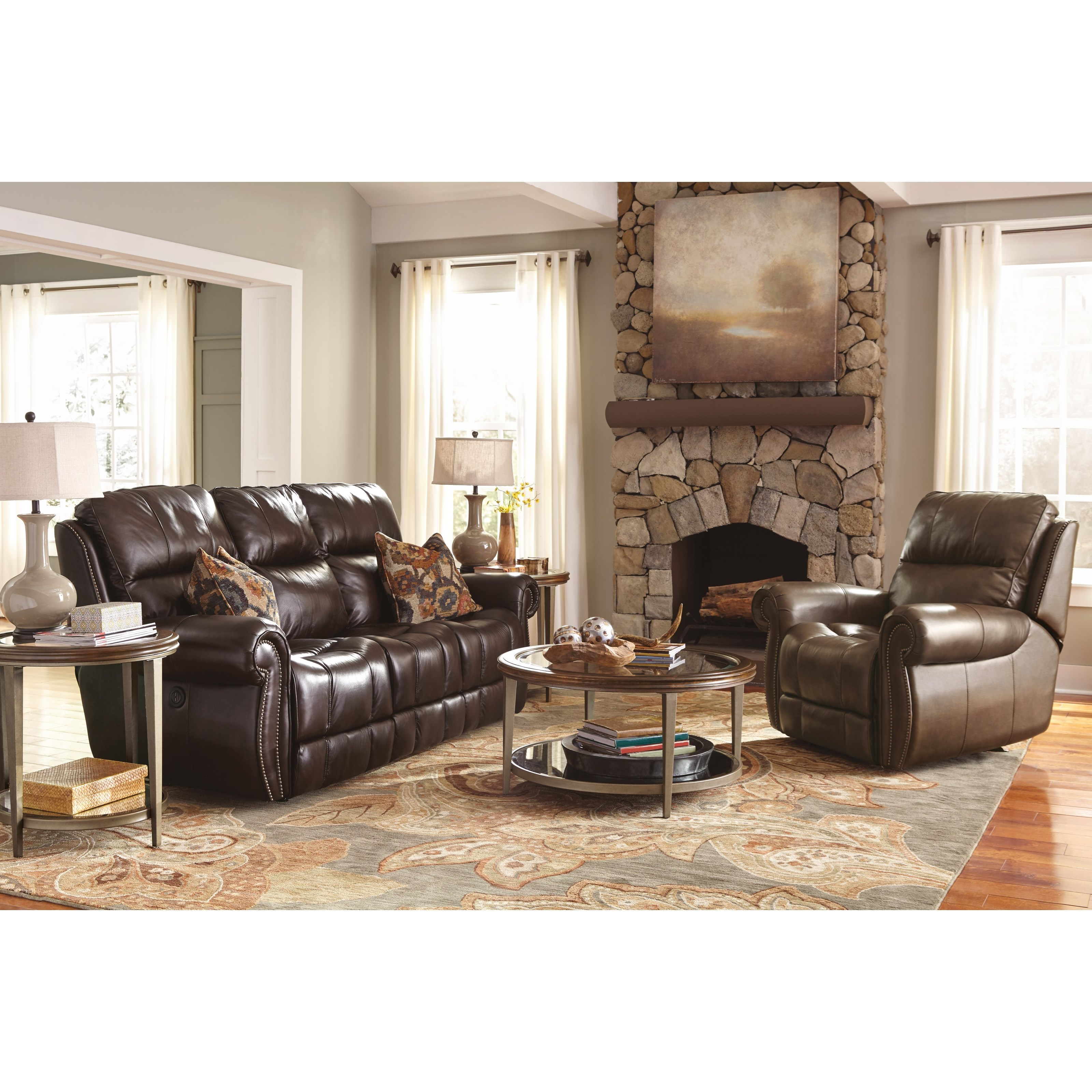 Flexsteel Latitudes - Maxwell Power Living Room Group - Item Number: 1603 Living Room Group 2