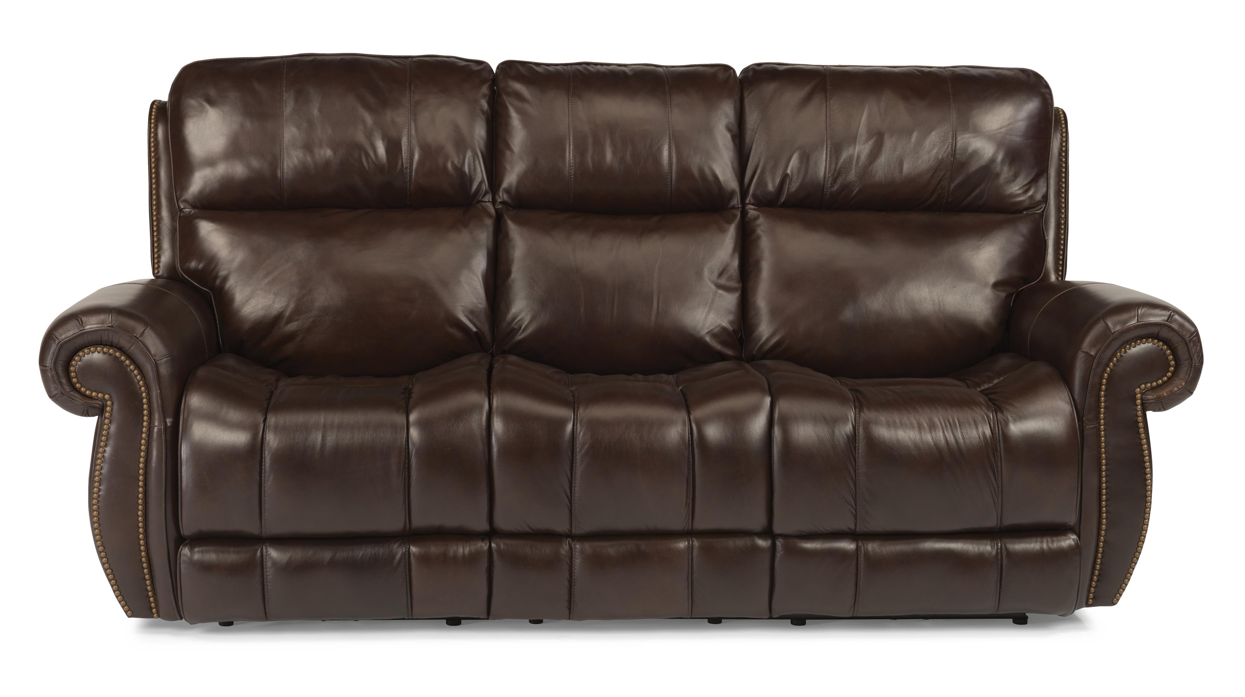 Flexsteel Latitudes - Maxwell Power Reclining Sofa - Item Number: 1603-62P-555-72
