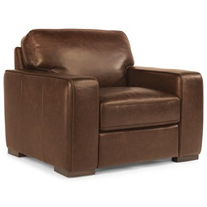 Flexsteel Latitudes-Mckinley Leather Chair