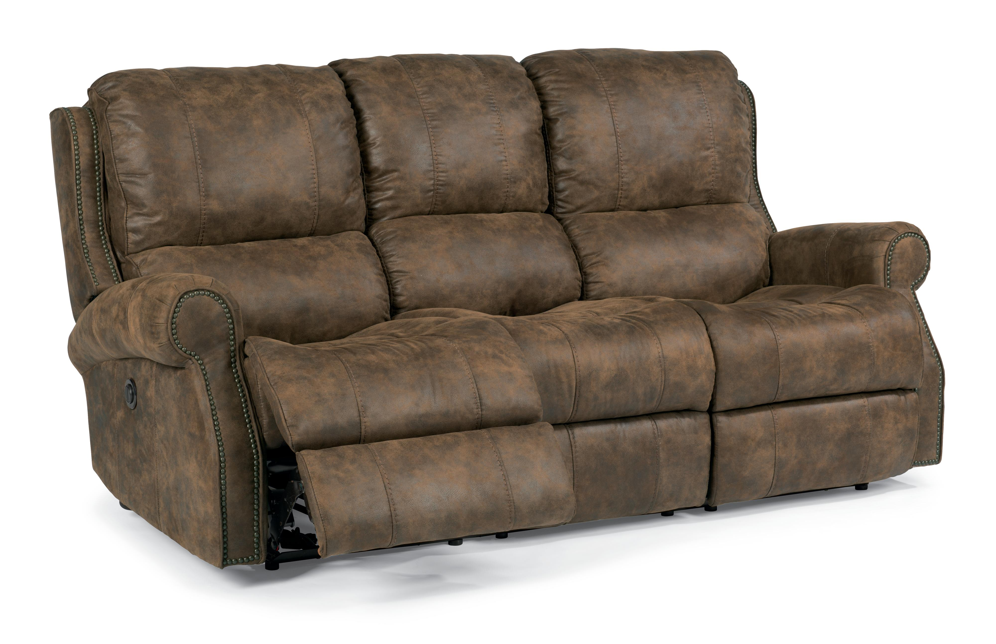 Flexsteel Latitudes-Miles Power Reclining Sofa - Item Number: 1532-62P