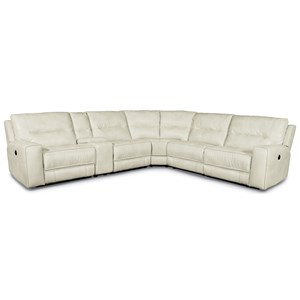 Flexsteel Latitudes-Molino Power Reclining Sectional Sofa