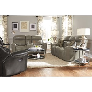 Flexsteel Latitudes-Mystic Reclining Living Room Group