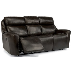 Flexsteel Latitudes-Mystic Power Reclining Sofa