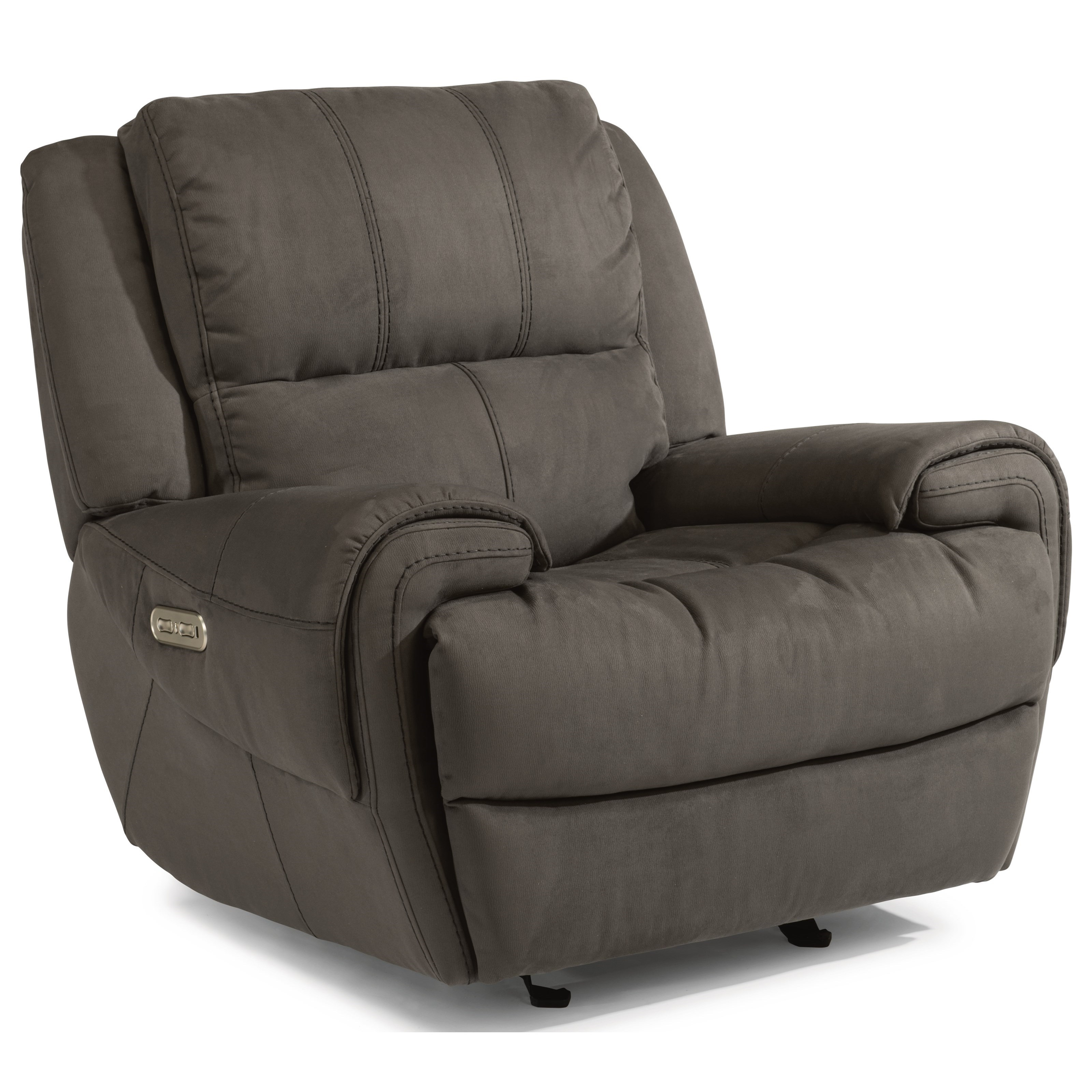 Flexsteel Latitudes-Nance Power Gliding Recliner with Power Headrest - Item Number: 1178-54PH-363-02