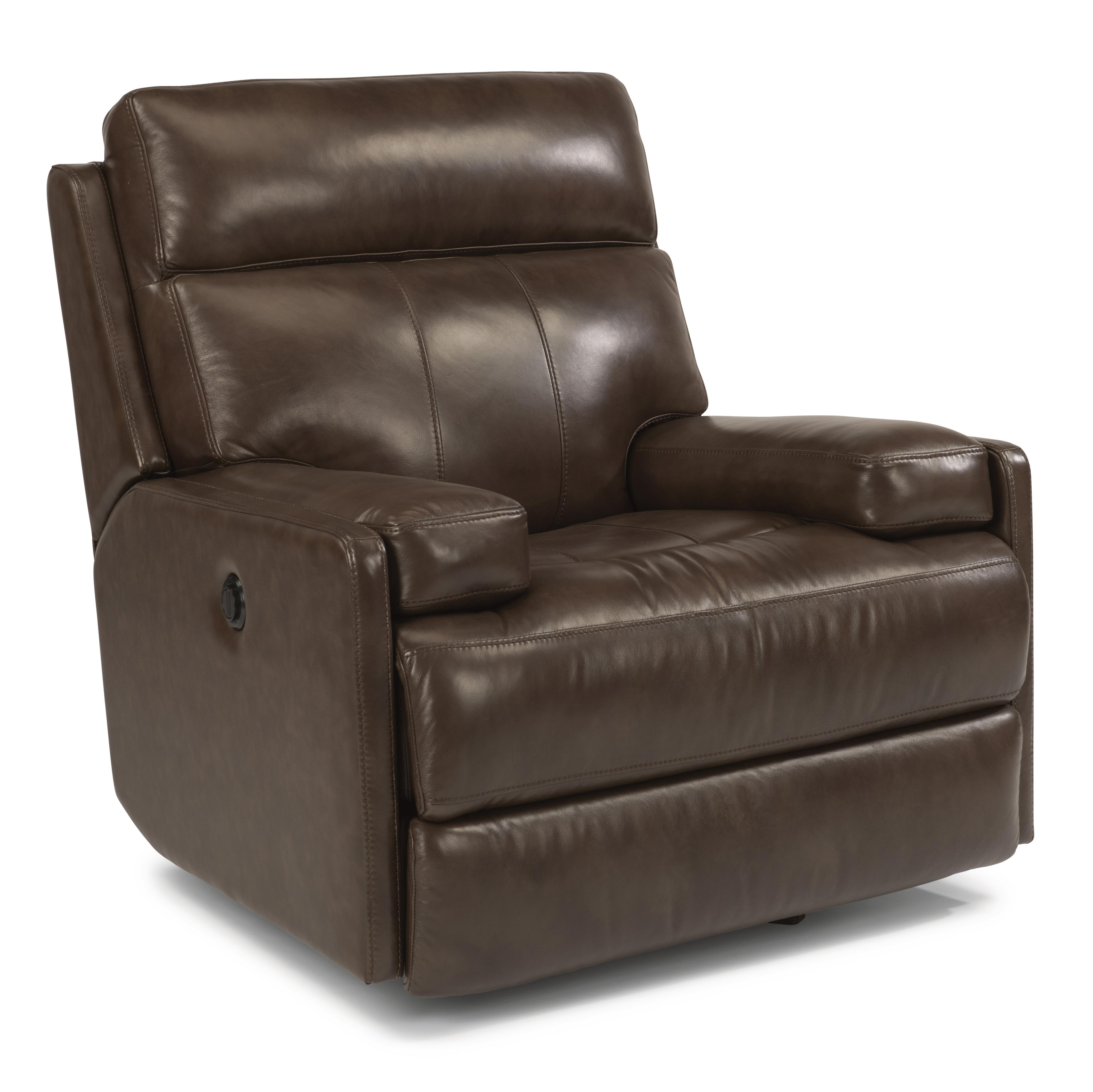 Flexsteel Latitudes-Nathan Glider Recliner with Power - Item Number: 1437-54P-660-74