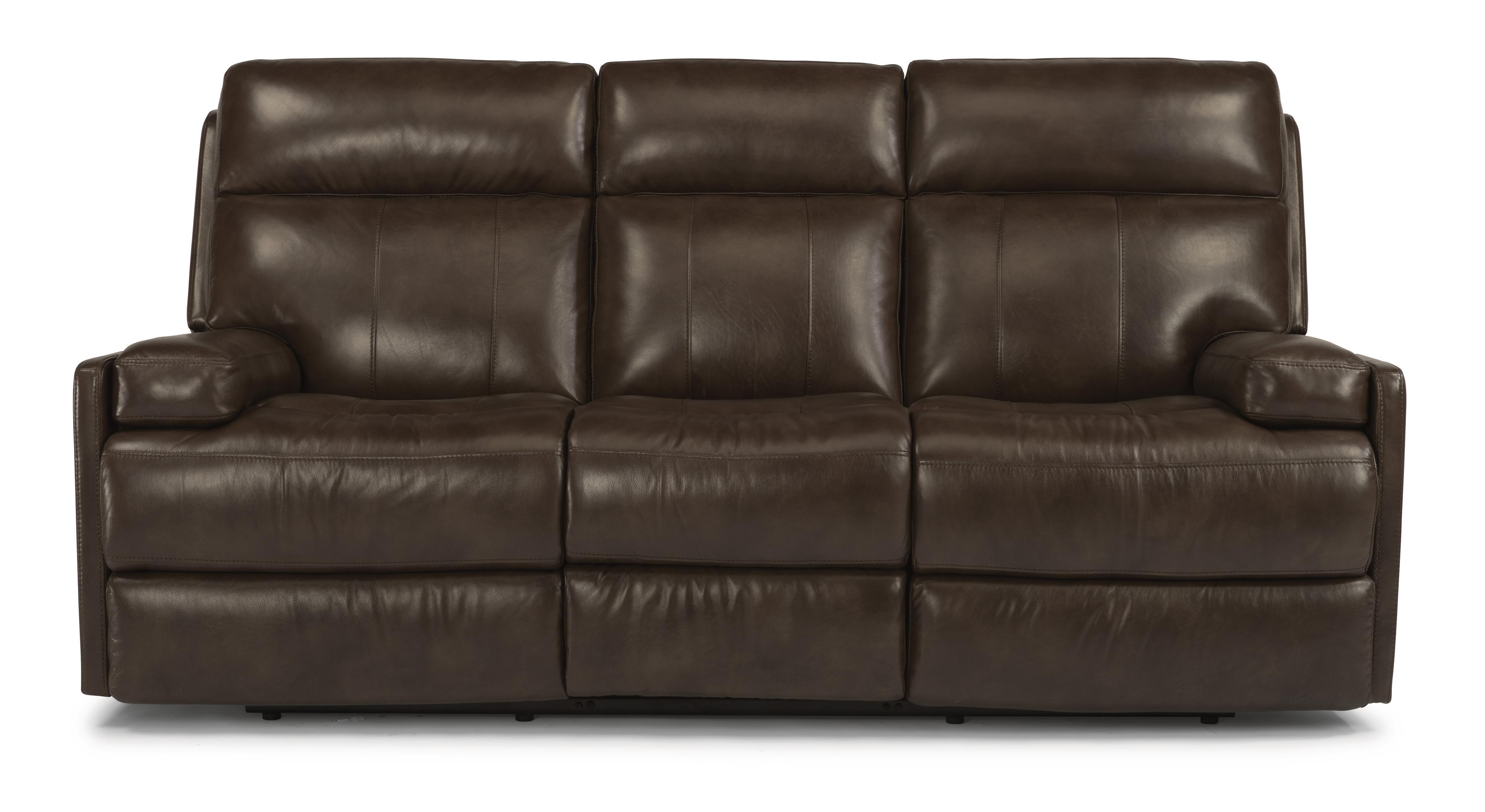 Flexsteel Latitudes-Nathan Power Reclining Sofa - Item Number: 1437-62P-660-74