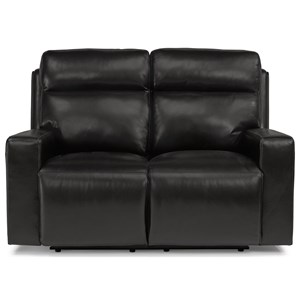 Flexsteel Latitudes-Niko Power Reclining Loveseat with Power Headrest