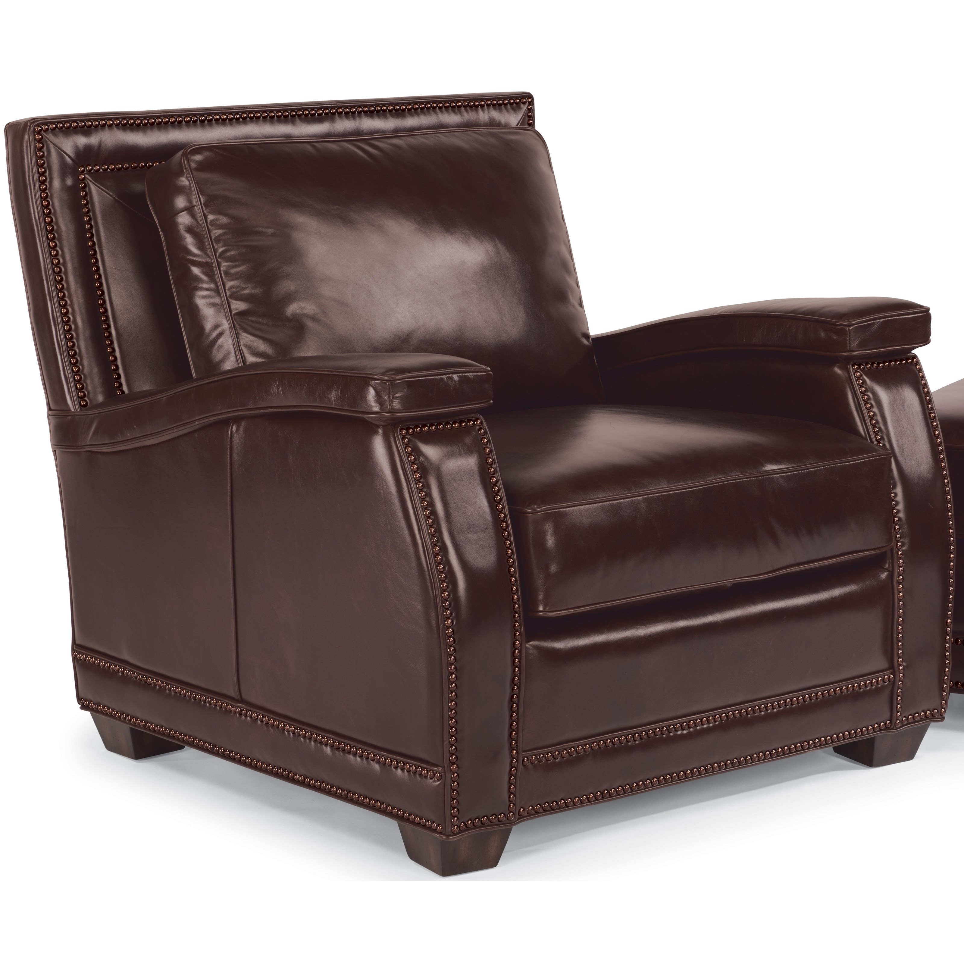 Flexsteel Latitudes-Raleigh Leather Chair  - Item Number: 1260-10