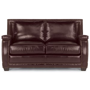 Flexsteel Latitudes-Raleigh Leather Loveseat