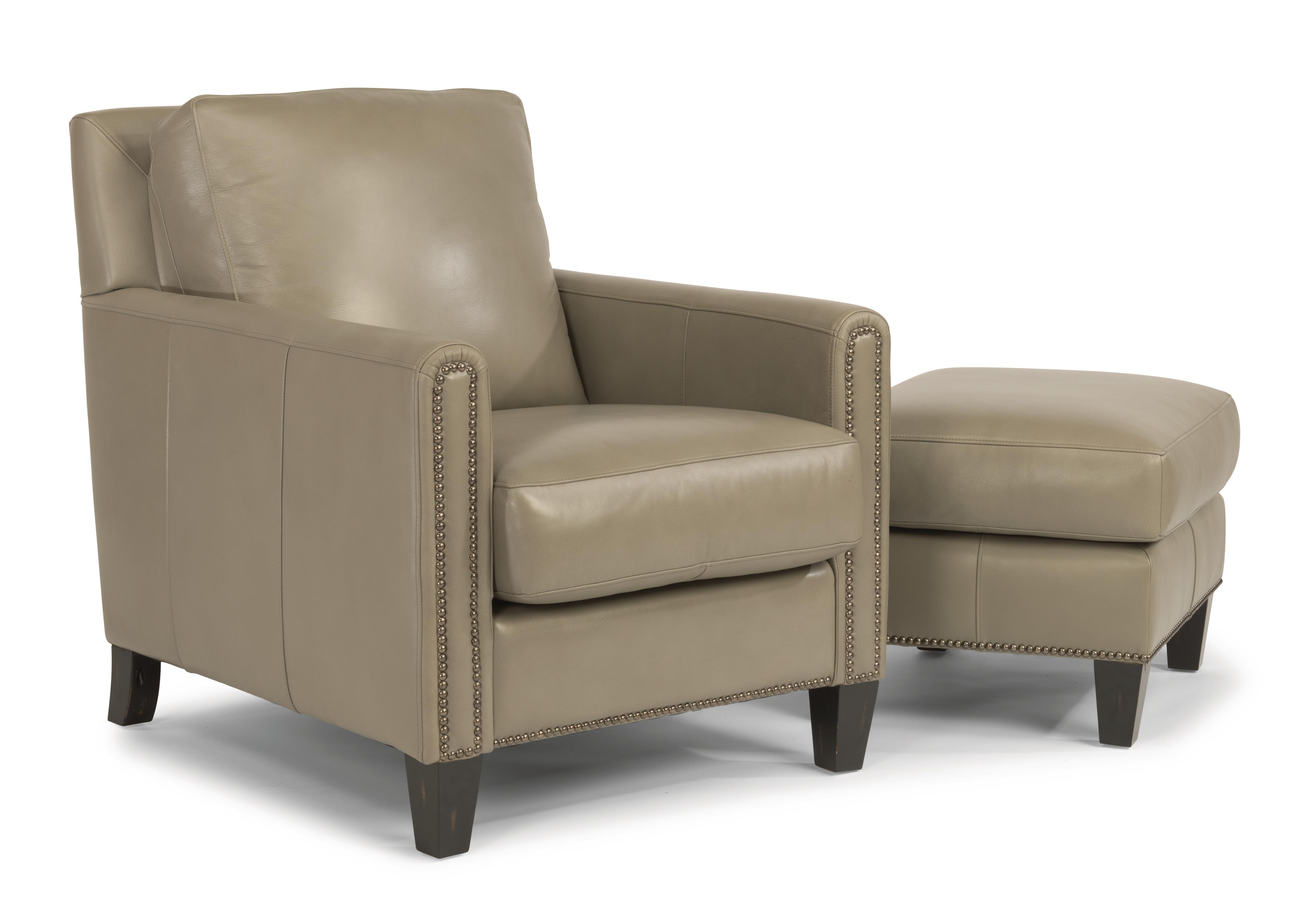 Flexsteel Latitudes-Reuben Chair & Ottoman Set - Item Number: 1209-10-LSP-05