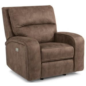 Flexsteel Latitudes-Rhapsody Power Gliding Recliner with Power Headrest